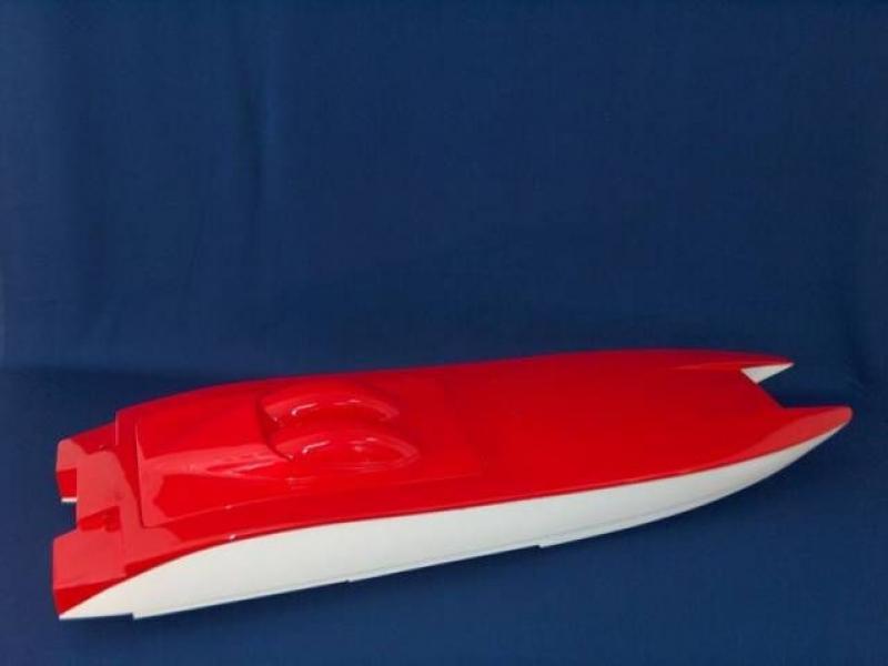 Корпус за Радио-управлаема лодка за риболов by Квалитет Спорт
